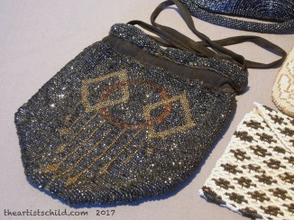 Art Deco Beaded Evening Bag