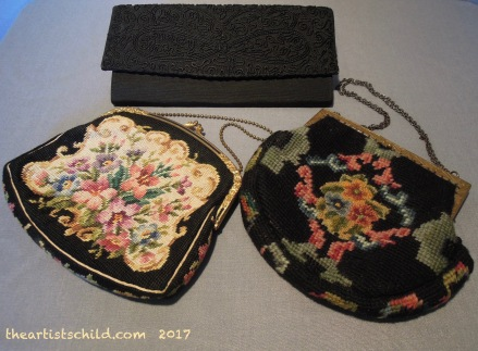 Evening Bags, 1930s & 1950s