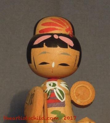 Vintage Kokeshi (detail)