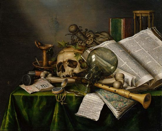 737px-Edwaert_Collier_-_Vanitas_-_Still_Life_with_Books_and_Manuscripts_and_a_Skull_-_Google_Art_Project